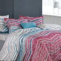 Madison & Co Wayne Faithe King Quilt Cover Set (180 x 200 cm)