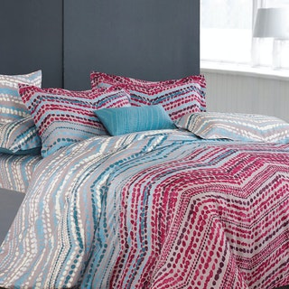 Madison & Co Wayne Faithe Queen Quilt Cover Set (160 x 200 cm)