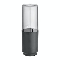 iDesign Austin Covered Toothbrush Holder Smoke/Matte Black
