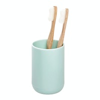 iDesign Cade Toothbrush Holder Soft Aqua