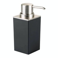 iDesign iDesgin Clarity Soap Pump Black/Brushed