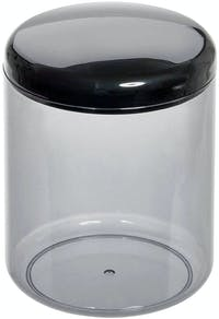 iDesign Finn Canister Black/Smoke