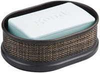 iDesign Twillo Soap Dish Bronze