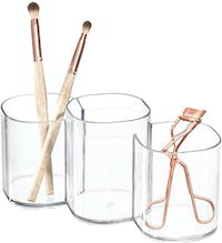 iDesign Clarity Cosmetic Trio Cup Clear