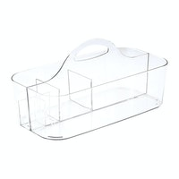 iDesign Clarity Bath Tote Clear