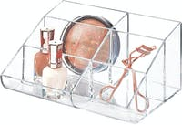 iDesign Clarity Cosmetic Palette Organizer Clear