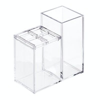 iDesign Clarity Vanity Organizer Clear