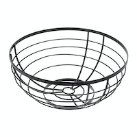 iDesign Austin Fruit Bowl Matte Black