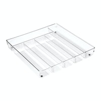 iDesign Linus Cutlery Tray Max Clear