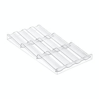 iDesign Linus Drawer Spice Holder Clear