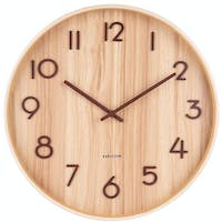 Karlsson Wall Clock Pure Large Light Basswood D. 60cm