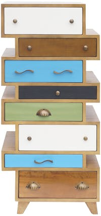 Alegre Rainbow Multiple Drawer