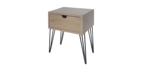 Alegre Tierra Night Table 1 Drawer