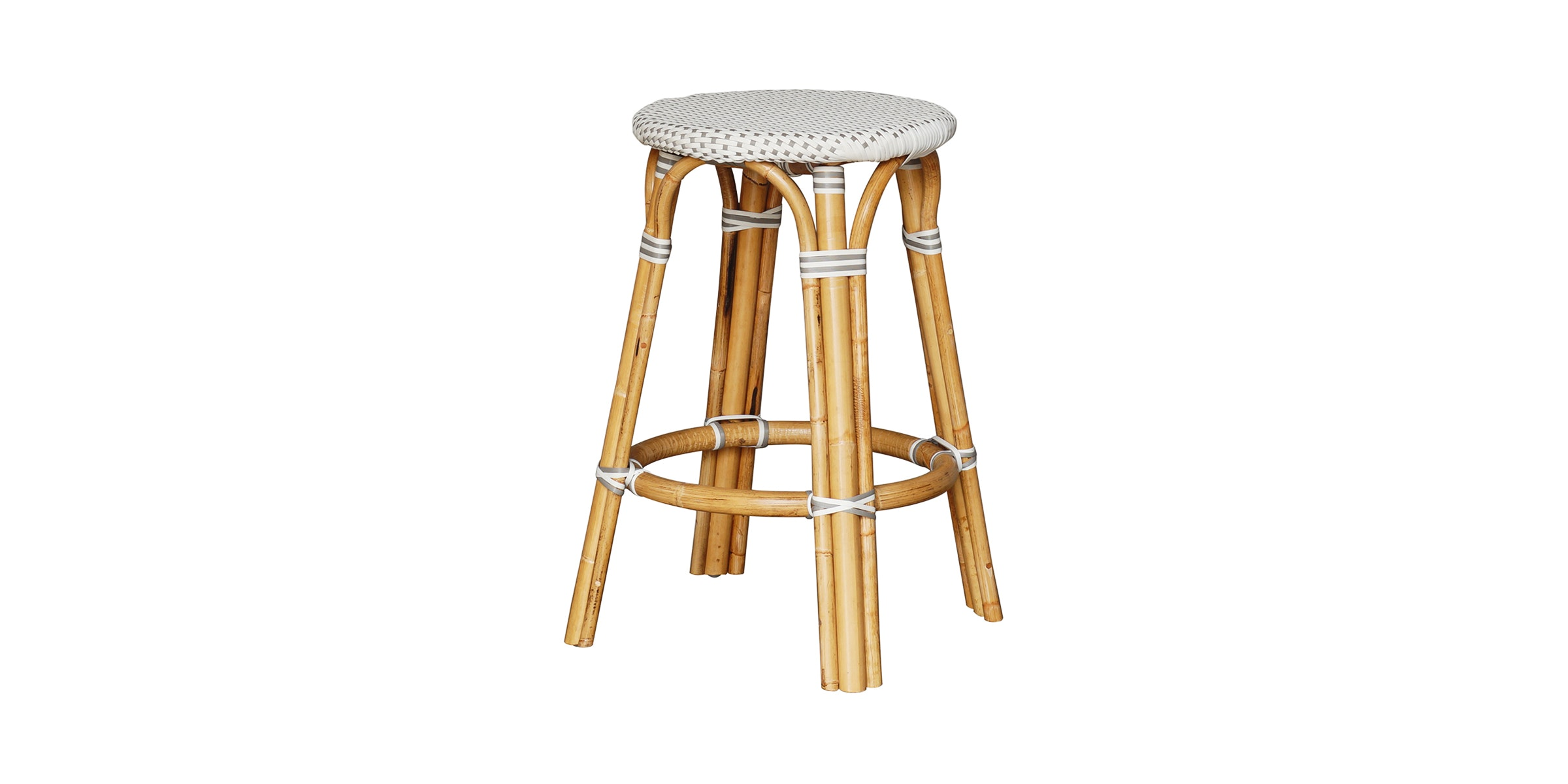 Alegre Nautilus Backless Counter Stool Grey