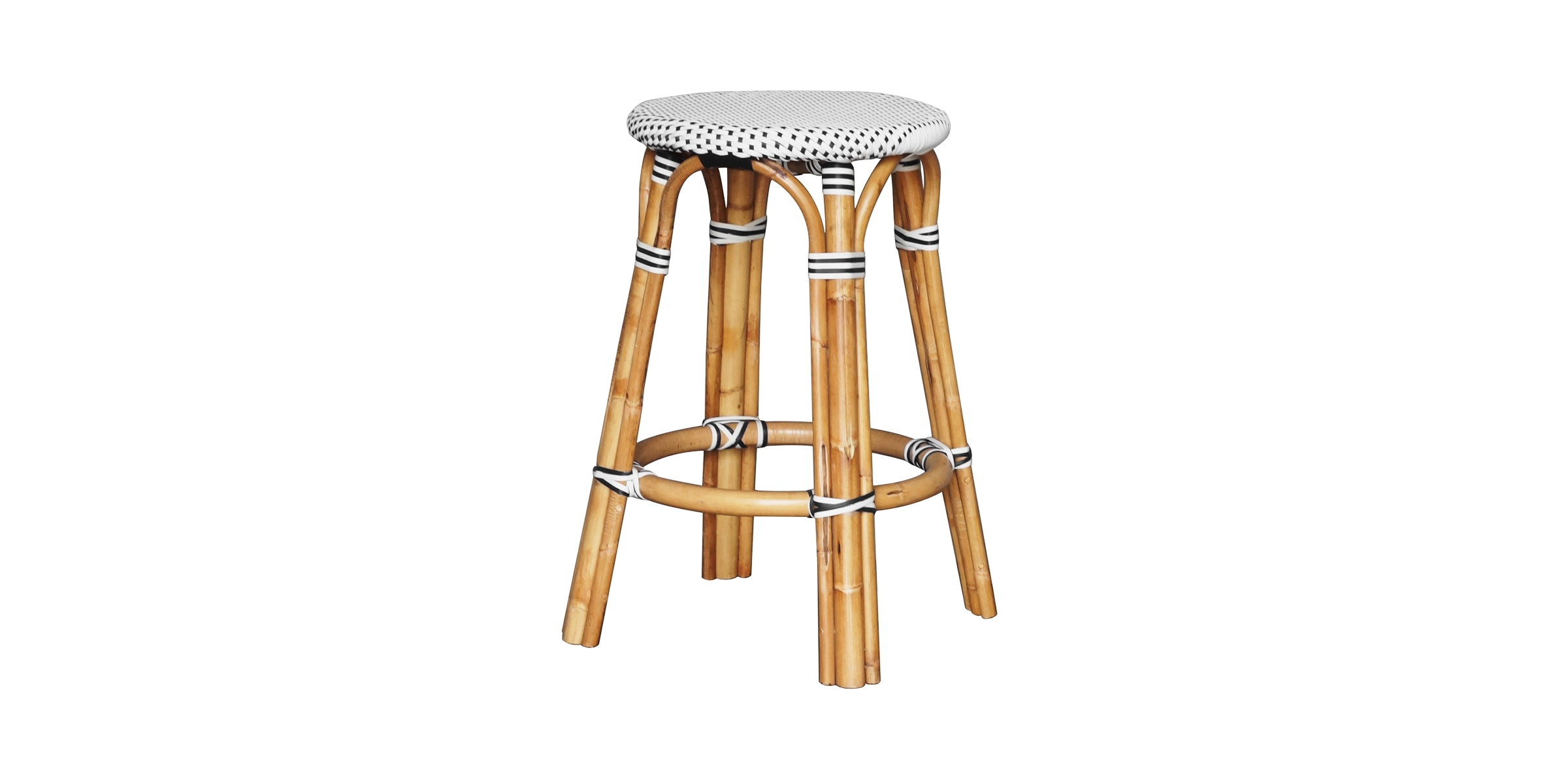 Alegre Nautilus Backless Counter Stool Navy