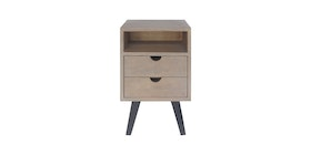Alegre Tierra Night Table 2 Drawers High