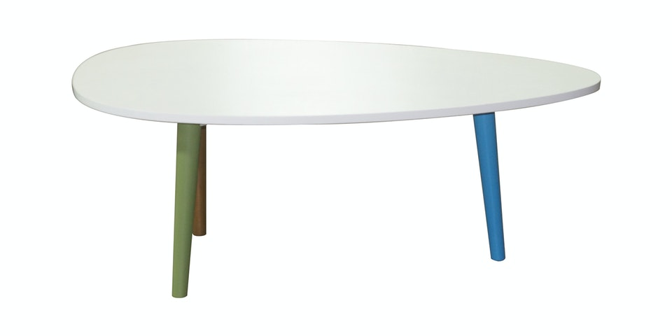 Alegre Rainbow Oval Coffee Table