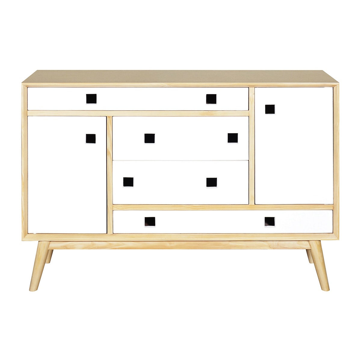 Alegre Nordic Side Board White