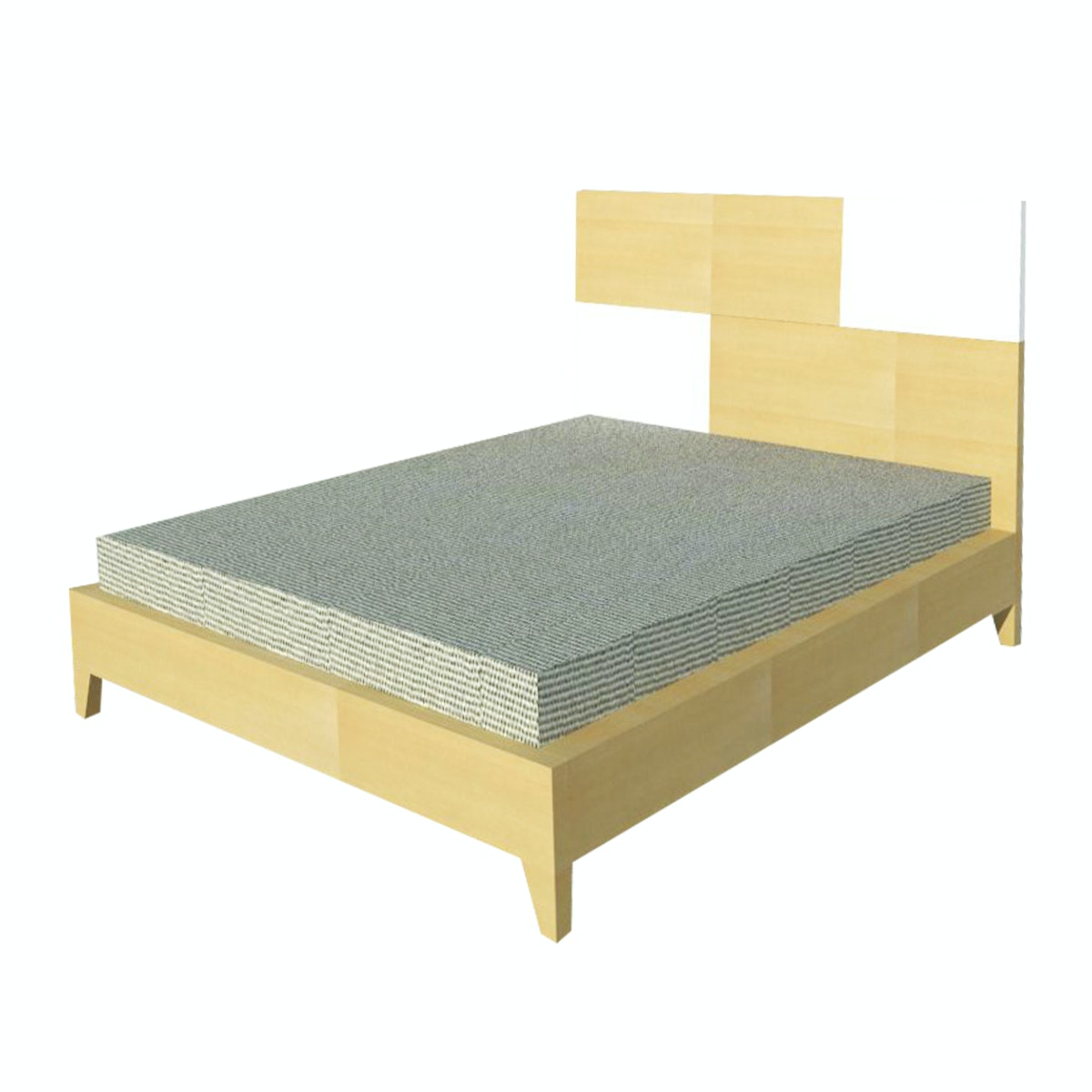 Alegre Nordic Bed Set Queen