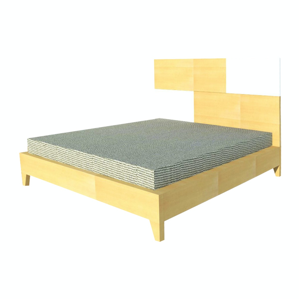 Alegre Nordic Bed Set King