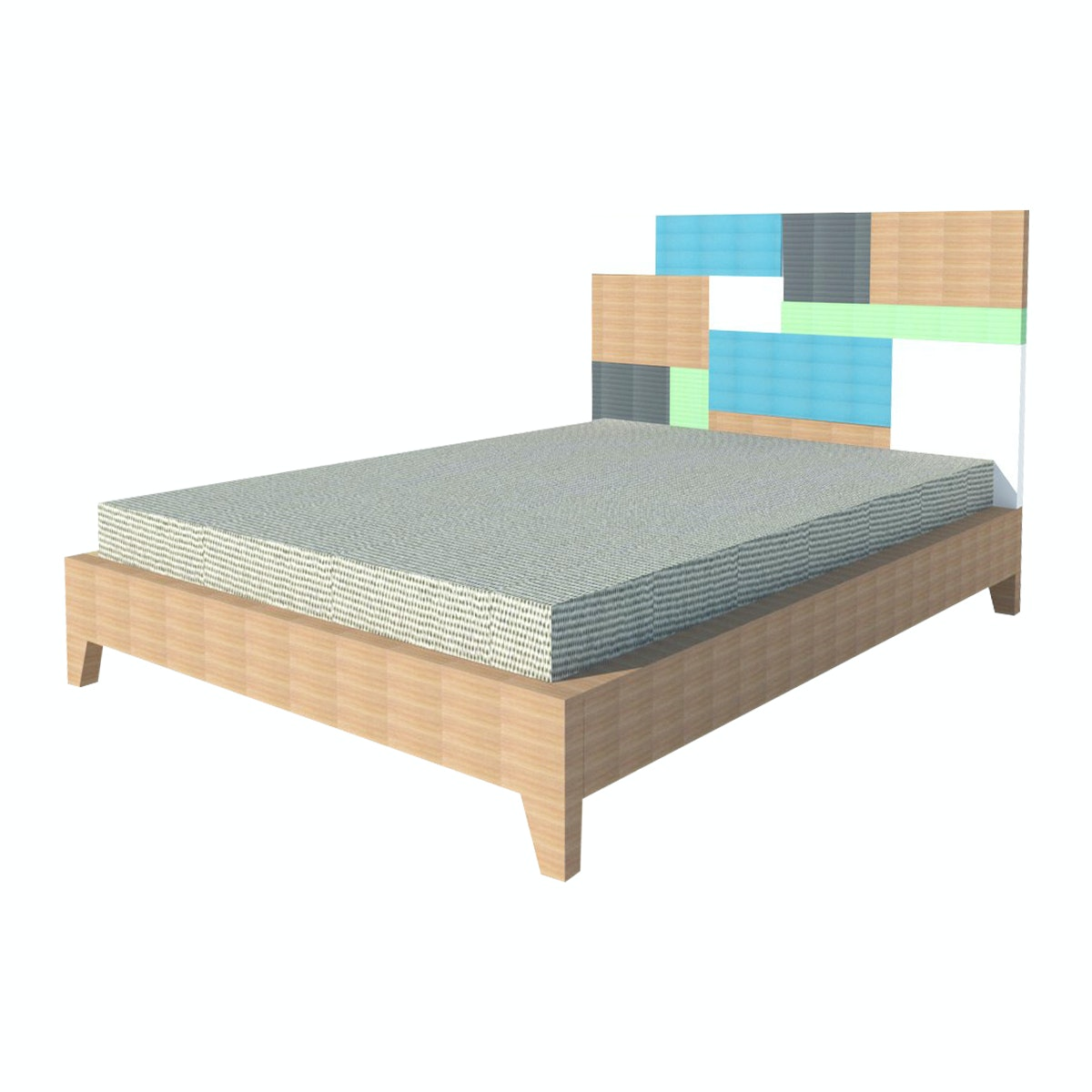Alegre Rainbow Bed Set King