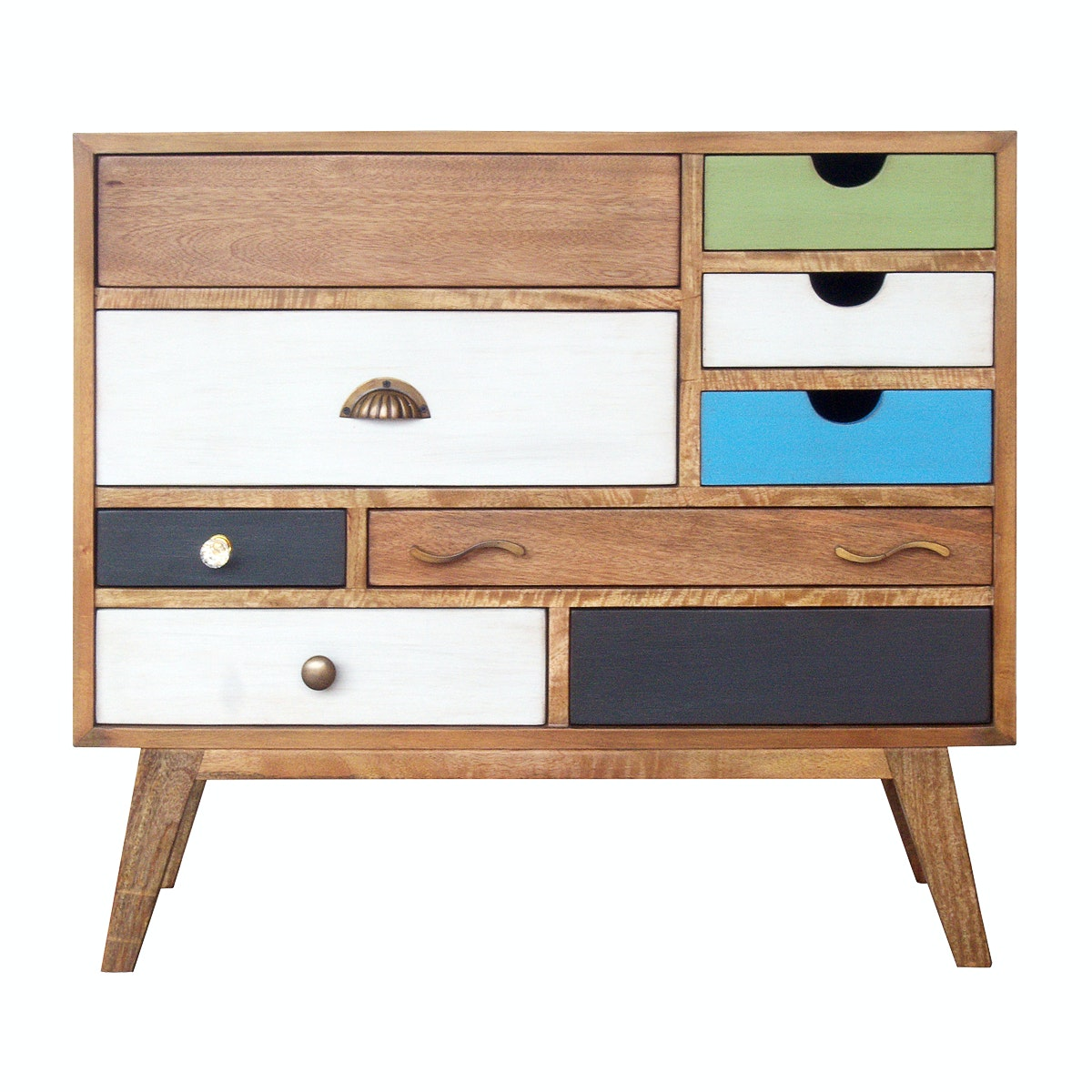Alegre Rainbow Small Cabinet With Legs