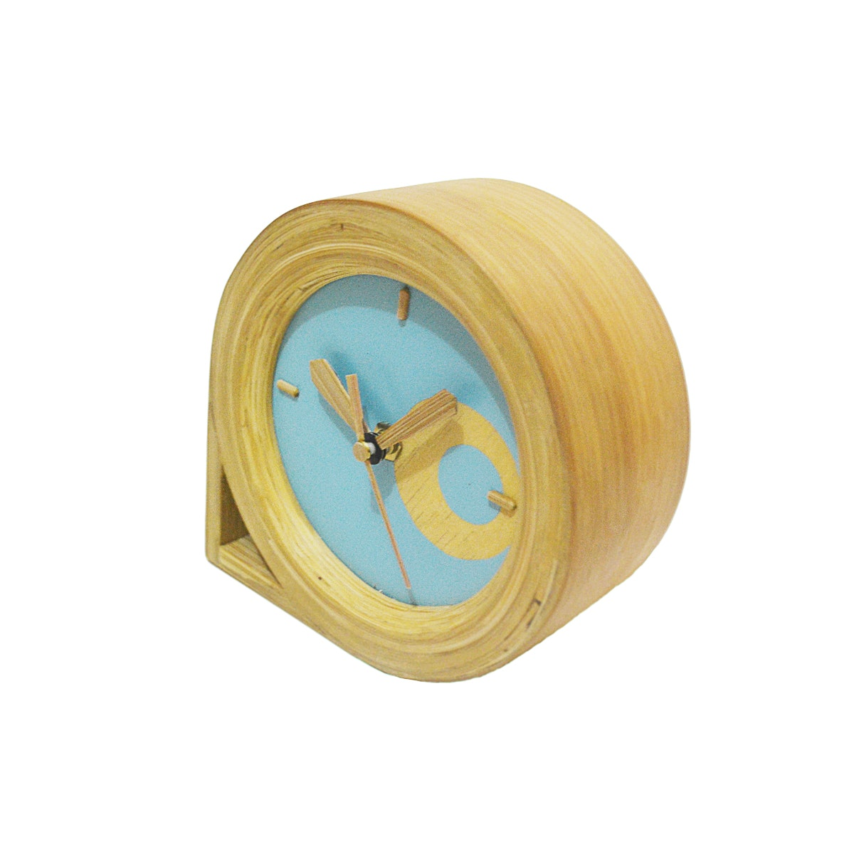 Amygdala Drop Table Clock