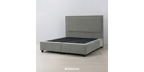 Ananta Laurent Bed Frame Single Drawer Queen Abu Tua