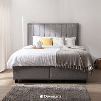 Ananta Helena Bed Frame Queen + Free Bench Abu-abu Uk. 120 cm