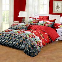 Pesona Disperse Sprei Cars Lama Uk 180x200x20cm