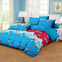 Pesona Disperse Sprei Doraemon Lama Uk 160x200x20cm