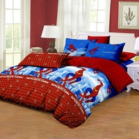 Pesona Disperse Sprei Spiderman Uk 180x200x20cm
