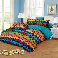 Pesona Disperse Sprei Rainbow Uk 120x200x20cm