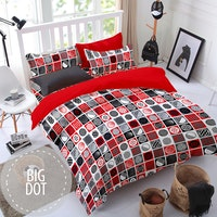 Pesona Disperse Sprei Big Dot uk 160 T 20