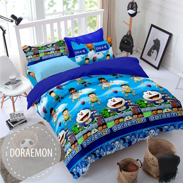 Pesona Sprei Disperse Doraemon 3D uk 180 T 20