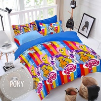 Pesona Sprei Disperse Pony Rainbow uk 160 T 20