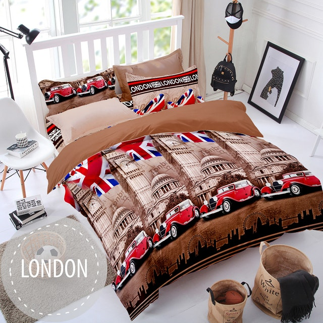 Pesona Sprei Disperse London Cokelat uk 120 T 20