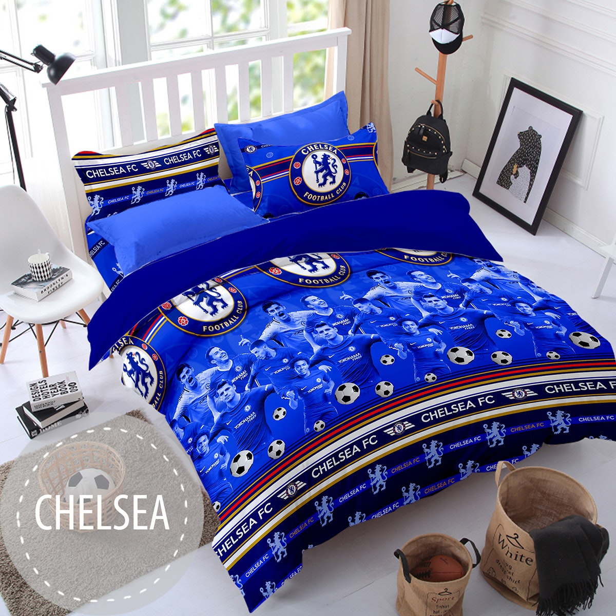 Pesona Sprei Disperse Chelsea uk 120 T 20