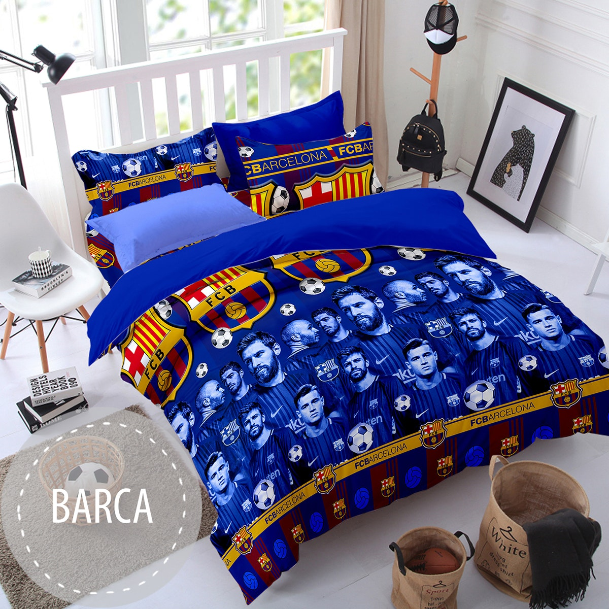 Pesona Sprei Disperse Barcelona uk 180 T 20