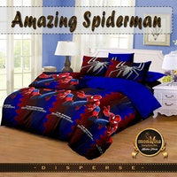 Pesona Bed Cover Disperse Spiderman Uk 160 x 200