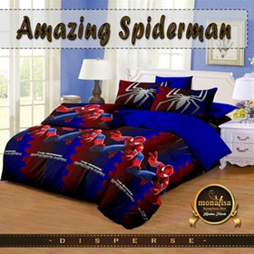 Pesona Bed Cover Disperse Spiderman Uk 210 x 200