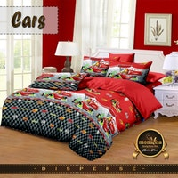 Pesona Bed Cover Disperse Cars Lama Uk 210 x 200