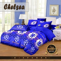 Pesona Bed Cover Disperse Chelsea Uk 210 x 200
