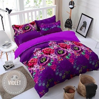 Pesona Sprei Disperse Violet Uk 160 T20