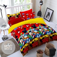 Pesona Sprei Disperse Mickey Mouse Uk 160 T20