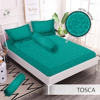 Royals Sprei Jacquard Emboss Uk 160 T 30 - Tosca