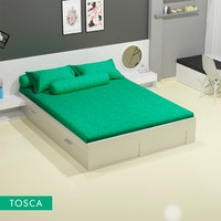 Royals Sprei Jacquard Emboss Uk 180 T 30 - Tosca