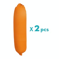 Aloevera Bolster Case Orange 23X90cm