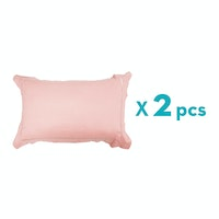 Aloevera Pillow Case Baby Pink 20X75cm