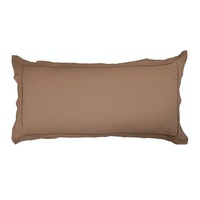 Aloevera Pillow Case King Hot Chocolate 50X100cm